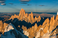 THE WEST FACE, FITZ ROY & CERRO TORRE